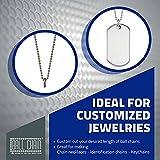 Ball Chain Number 6 Ball Chain - Aluminum Bead