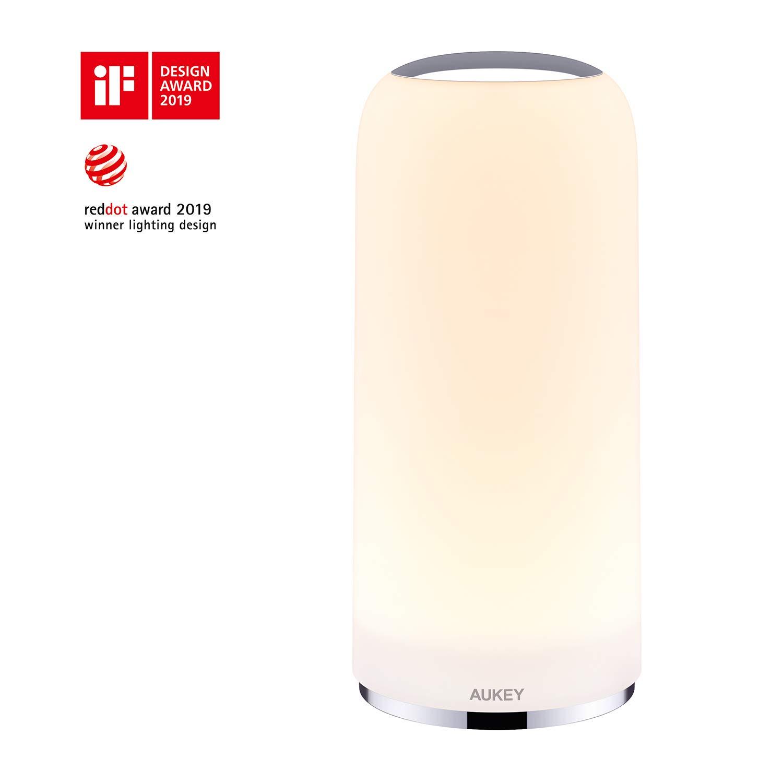 AUKEY Lampada da Comodino LED con Sensore Touch