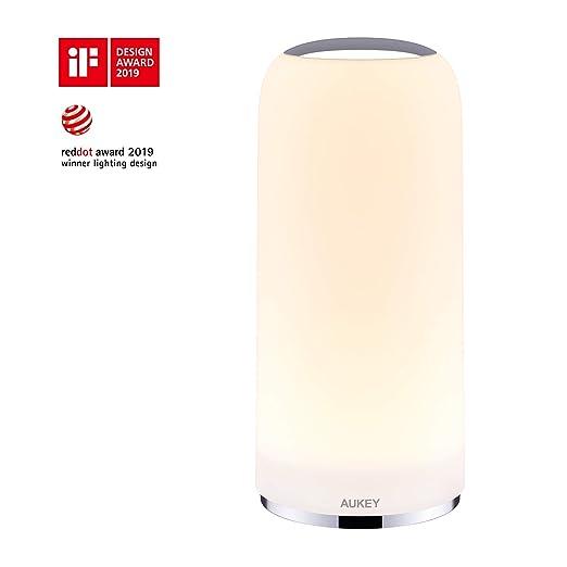 Chevet Led Aukey Avec Table Lumière De Tactile Lampe rCeWodBx