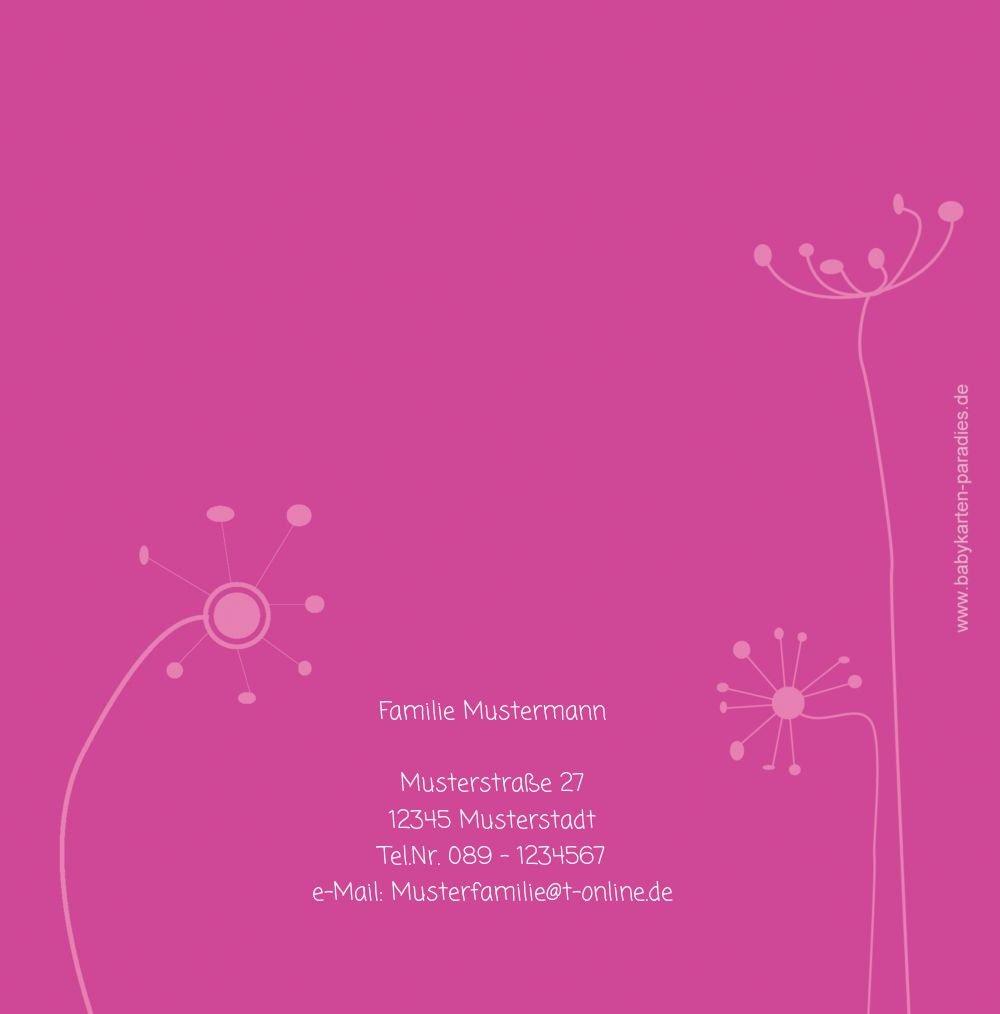 Kartenparadies Danksagung für Geburt Baby Dankeskarte Dankeskarte Dankeskarte abstrakte Blaumen, hochwertige Danksagungskarte Baby inklusive Umschläge   100 Karten - (Format  145x145 mm) Farbe  Orange B01N6WJ1MU | Wirtschaftlich und praktisch  | Hohe Sicherheit  | Er e58102
