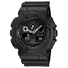Casio Men's G-Shock GA100-1A1 Black Resin Quartz Watch