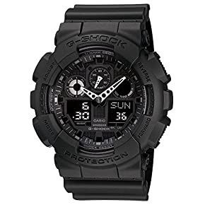G-SHOCK The GA 100 Military Series Watch in Black