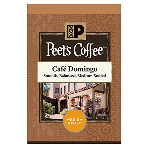 PEET'S COFFEE Café Domingo Single Serve Freshpack for MARS DRINKS FLAVIA Brewer, 18 Packets