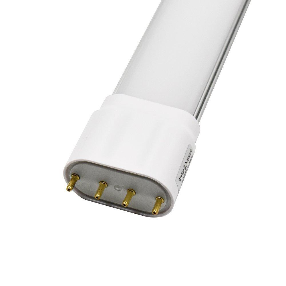 2G11 4 Pin Base 18W LED Light Tube Daywhite 3000k 110-130V LED Light Bulb 1800lm Replace 36W Fluorescent Tube by boy yong (Image #3)