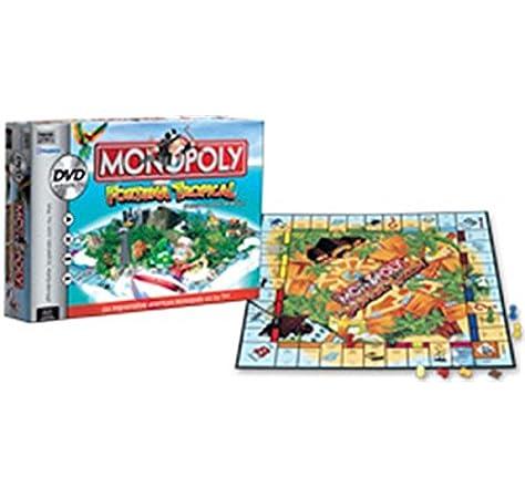 Hasbro Monopoly DVD Game: Amazon.es: Juguetes y juegos