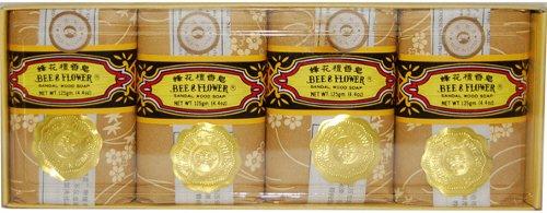 Bee Flower Sandalwood Soap 4 4oz product image