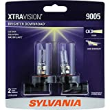 SYLVANIA 9005 XtraVision Halogen Headlight Bulb, (Pack of 2)