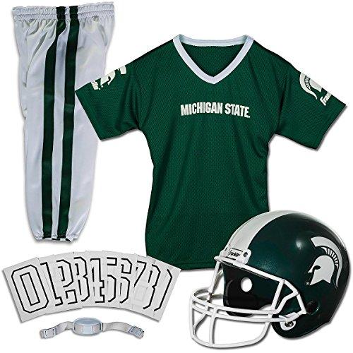 Collegiate Football Uniform (NCAA Michigan State University Youth Uniform Set)