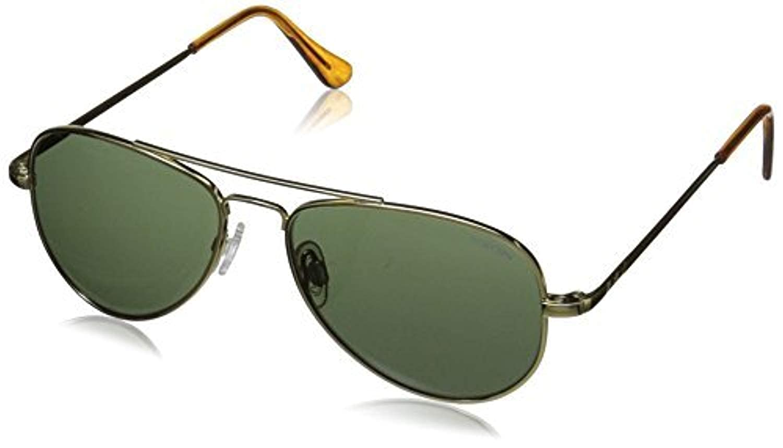 c7a2a4aae4b Amazon.com  Randolph Concorde 23K Gold Skull Temple AGX Non-Polarized  Sunglasses  Clothing