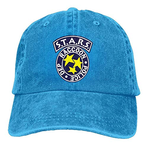 Stars Raccoon Police Department Cowboy Dad Cap Baseball for sale  Delivered anywhere in USA