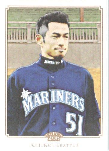 2010 Ichiro Suzuki Rookie Card - 2010 Topps T206 Baseball Card # 52 Ichiro Suzuki - Seattle Mariners - MLB Trading Card
