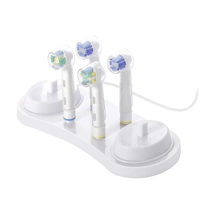 Fundas para cabezales de cepillo de dientes eléctrico, de Nincha, 10 unidades, para cepillos Oral-B, para mantener los cabezales del cepillo de dientes ...