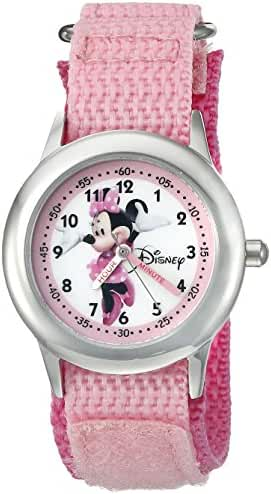 Disney Infinity Kids' W002500 Minnie Mouse Analog Display Analog Quartz Pink Watch