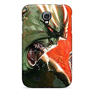 New Style Tpu S4 Protective Case Cover/ Galaxy Case - Hulk Vs Dracula