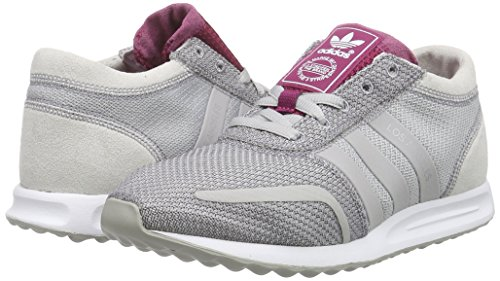Adidas Originals Gris rose Basses Angeles Sneakers Los Femme SSxYdrqw