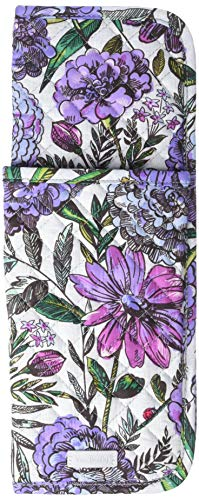 (Vera Bradley Iconic Curling & Flat Iron Cover, Signature Cotton, Lavender Meadow)