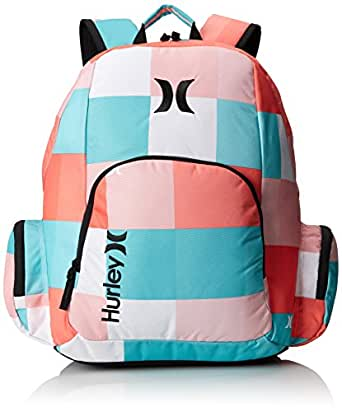 Hurley Juniors Campus Backpack, Blaze Pink Kings Road, One Size