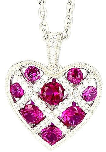 chariot-trading-silver-red-heart-pendant-gem-stone-zircon-cz-diamond
