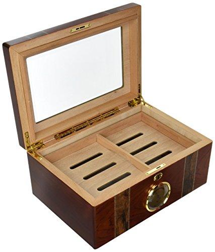 Cigar Classics 125 Count Humidor, - Cigar Classic Humidor