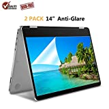 "[2 Pack] 14"" Anti Glare Screen Protector Compatible for ASUS VivoBook 14 Inch/HP Stream 14 Inch/Acer Chromebook 14 Inch/Lenovo Flex 14 Inch/HP ChromeBook 14 Inch"