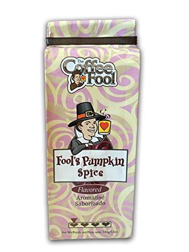 (The Coffee Fool Perk Grind, Fool's Decaf Pumpkin Spice, 12 Ounce)