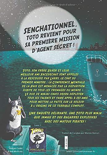 Toto Ninja chat et le grand braquage du fromage: Amazon.es ...
