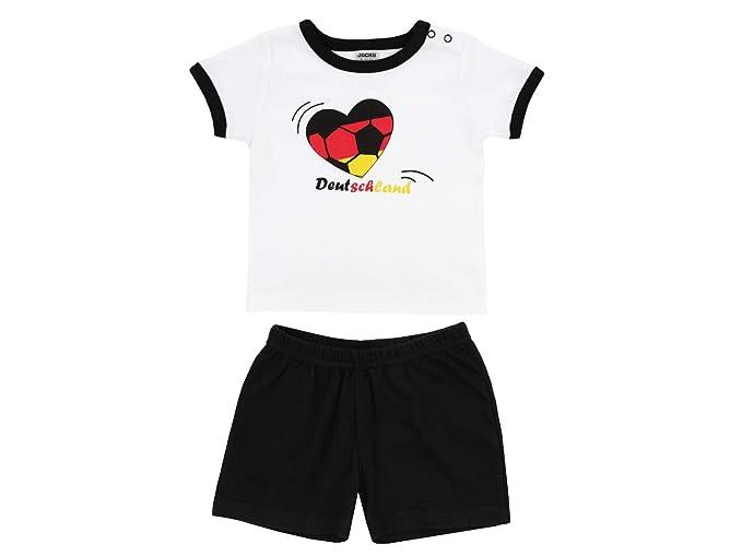 JACKY T-Shirt + Shorts Herz Deutschland WM 2018 Chándal, Bebé ...