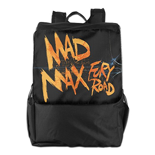 Price comparison product image FUOALF Mad Max Fury Road School Travel Laptop Shoulders Backpack Bag