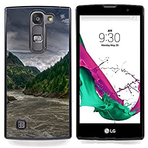SKCASE Center / Funda Carcasa protectora - Forrest río Rapids;;;;;;;; - LG G4c Curve H522Y ( G4 MINI , NOT FOR LG G4 )