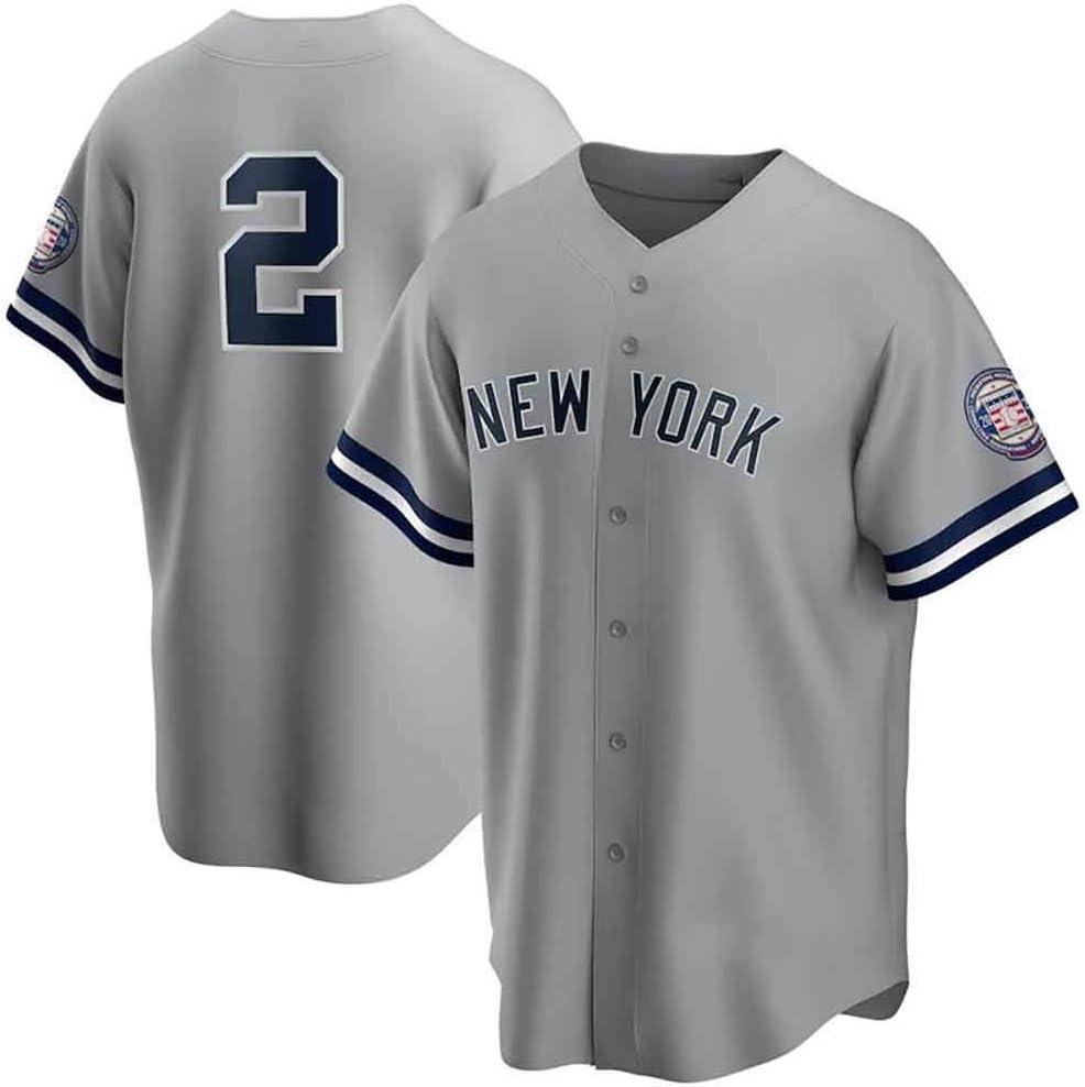 GMRZ MLB Camiseta para hombre, camiseta de béisbol con New ...