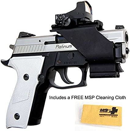Tactical Universal Pistol Sight Rail Mount//Picatinny flat top rail for Handguns