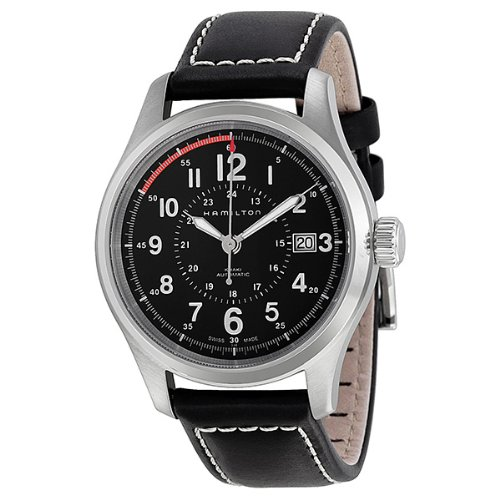 Hamilton Reloj Analogico para Hombre de Automático con Correa en Cuero H70595733