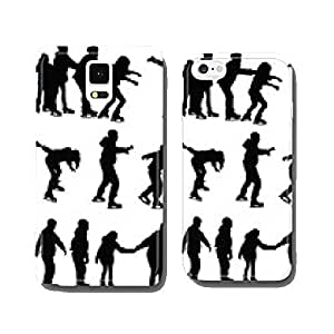 skating silhouette vector cell phone cover case iPhone6 Plus
