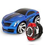 Voice Command Car, Megadream Smart Watch Voice Control 2.4 G Frenquency Rechargeable Creative RC Car with Cool Brakes and Dazzling Headlights Voice on/off for Children Kids Students Toys Gifts by Megadream