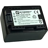 Canon VIXIA HF R600 Camcorder Battery Ultra High Capacity (Li-Ion 2100mAh 3.7V) - Replacement for the Canon BP-718 Camera Battery - Fully Decoded