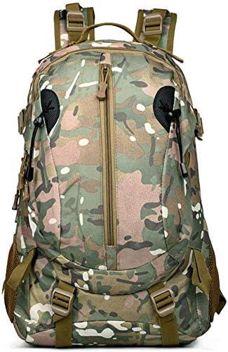 BAJIMI アウトドアハイキングキャンプ旅行35L迷彩軍の戦術的なクライミングバッグ狩猟トレッキングナイロンリュックサック/スタイル/Cのための防水バックパック