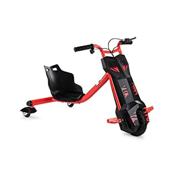 o Triciclo eléctrico para Derrapes con giros hasta 360 grados - Patín ebike Scooter Drift para niños con 3 ruedas con Bluetooth (rojo): Amazon.es: Deportes ...