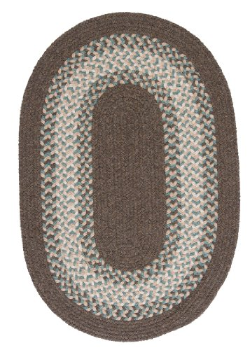 North Ridge Rug, 4 by 6-Feet, Bark