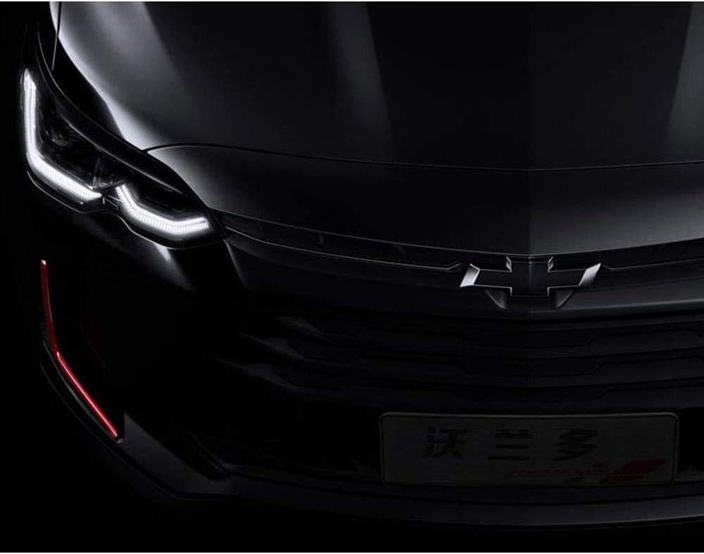 Guzetop Front /& Tailgate Bowtie Emblem Compatible with 2016-2018 Chevy GM Silverado 1500