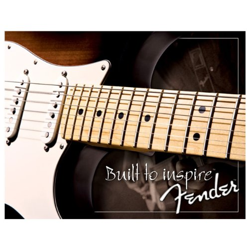 Fender Guitar Clothing (Fender Built 2 Inspire Tin Sign)