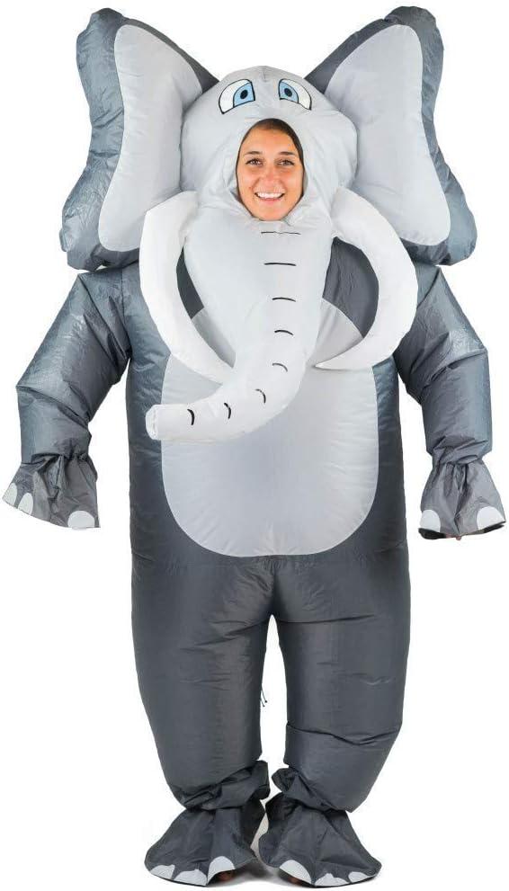 Bodysocks® Disfraz Hinchable de Elefante Adulto: Amazon.es ...
