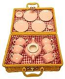 MMP Living Children's Porcelain Play Tea Set - Pink