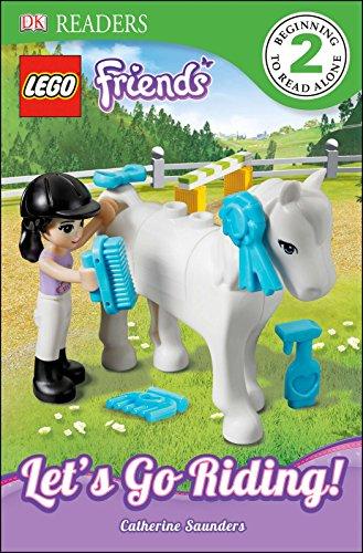 DK Readers L2: LEGO Friends: Lets Go Riding! (DK Readers Level 2)
