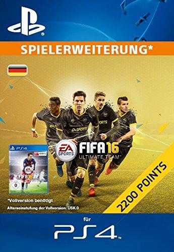 2200 Fifa 16 Ultimate Team Points Zusatzinhaltps4 Psn Code