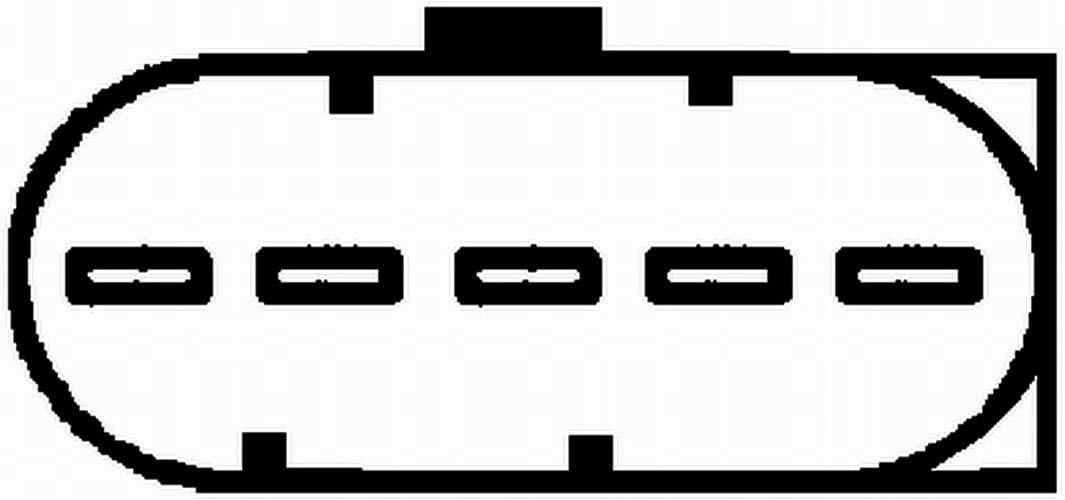 HELLA 8ET 009 149-121 Luftmassenmesser Montageart Rohrstutzen Anschlussanzahl 5