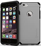 iPhone 6s Case : Stalion® {Solid Series} Super Rough Durable Protective Heavy Duty Hard Case (Quick Silver) for Apple iPhone 6 & iPhone 6s