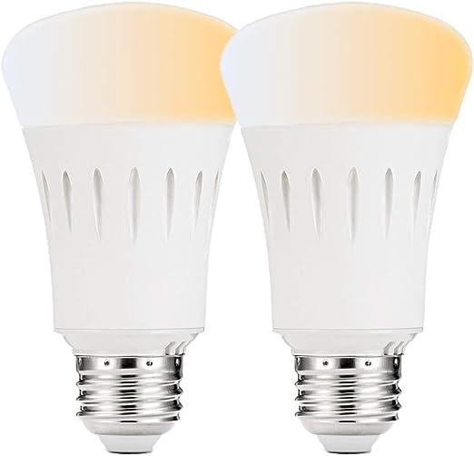 Bombilla Inteligente Luz Cálida E27 9W con Wi-Fi Compatible con ...