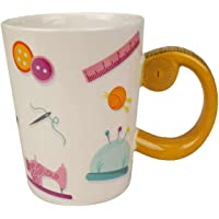 Tacony N43712 Tape Measure Sewing Mug Kitchen Accessories