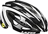 Lazer Helium with MIPS Road Helmet LARGE BLACK/WHITE