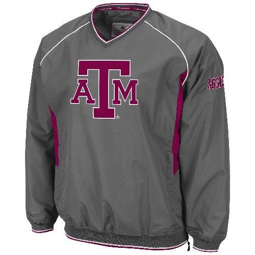 Hardball Pullover Jacket (Texas A&M Aggies NCAA 2013 Hardball Pullover Jacket - Charcoal)